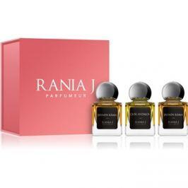 Rania J. Priveé Rubis Collection darčeková sada I.  parfémovaná voda 3 x 5 ml