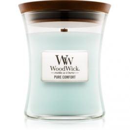 Woodwick Pure Comfort vonná sviečka 275 g stredná