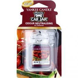 Yankee Candle Black Cherry vôňa do auta   závesná