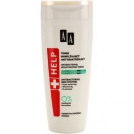 AA Cosmetics Help Acne Skin antibakteriálne tonikum s hydratačným účinkom  200 ml