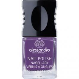 Alessandro Nail Polish lak na nechty odtieň 932 Violet Sky 10 ml