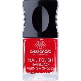 Alessandro Nail Polish lak na nechty odtieň 907 Ruby Red 10 ml