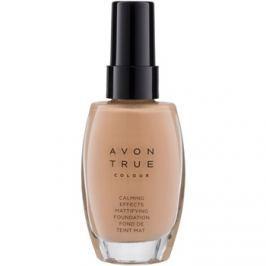 Avon True Colour upokojujúci make-up pre matný vzhľad odtieň Cream 30 ml