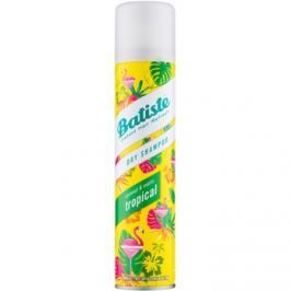 Batiste Fragrance Tropical suchý šampón pre objem a lesk  200 ml