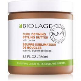 Biolage RAW Styling stylingové maslo pre definíciu vĺn s kakaom bez parabénov a silikónov  250 ml