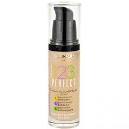 Bourjois 123 Perfect tekutý make-up pre perfektný vzhľad odtieň 55 Beige Fonce SPF 10  30 ml
