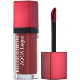 Bourjois Rouge Edition Aqua Laque hydratačný rúž s vysokým leskom odtieň 03 Brun croyable 7,7 ml