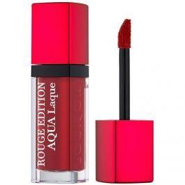 Bourjois Rouge Edition Aqua Laque hydratačný rúž s vysokým leskom odtieň 05 Red my lips 7,7 ml