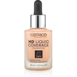 Catrice HD Liquid Coverage make-up odtieň 020 Rose Beige  30 ml