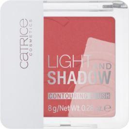 Catrice Light & Shadow kontúrovacia tvárenka odtieň 030 Rose Propose 8 g