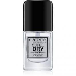 Catrice Super Dry Gloss vrchný lak na nechty urýchľujúci vyschnutie  10,5 ml
