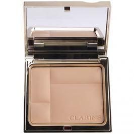 Clarins Face Make-Up Ever Matte kompaktný minerálny púder pre matný vzhľad odtieň 02 Transparent Medium  10 g
