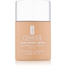 Clinique Even Better Glow make-up pre rozjasnenie pleti SPF 15 odtieň WN 12 Meringue 30 ml