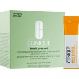 Clinique Fresh Pressed čistiaci púder s vitamínom C  28 x 0,5 g
