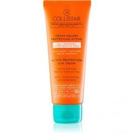 Collistar Sun Protection ochranný krém na opaľovanie SPF50+  100 ml