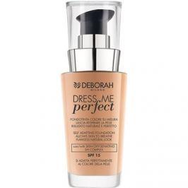 Deborah Milano Dress Me Perfect make-up pre prirodzený vzhľad SPF15 odtieň 02 Beige 30 ml