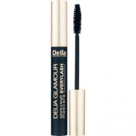 Delia Cosmetics Glamour riasenka pre objem, dĺžku a oddelenie rias odtieň Black 11 ml