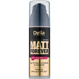 Delia Cosmetics Matt Forever ľahký make-up odtieň 44 35 ml