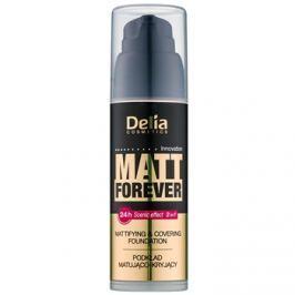 Delia Cosmetics Matt Forever ľahký make-up odtieň 46 35 ml