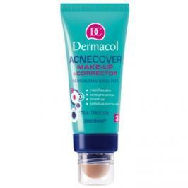 Dermacol Acnecover make-up a korektor pre problematickú pleť, akné odtieň 3  30 ml