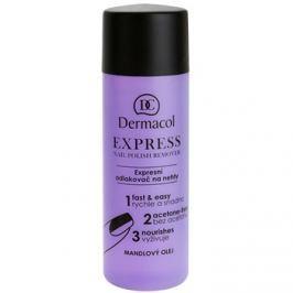 Dermacol Express odlakovač na nechty bez acetónu  120 ml