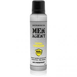 Dermacol Men Agent Total Freedom antiperspirant v spreji  150 ml