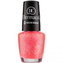 Dermacol Neon neónový lak na nechty odtieň 19 Bikini 5 ml