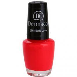 Dermacol Neon neónový lak na nechty odtieň 12 Love 5 ml