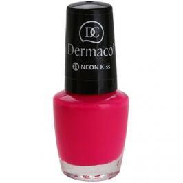 Dermacol Neon neónový lak na nechty odtieň 14 Kiss 5 ml