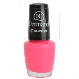 Dermacol Neon neónový lak na nechty odtieň 03 Pink 5 ml
