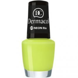 Dermacol Neon neónový lak na nechty odtieň 21 Rio 5 ml