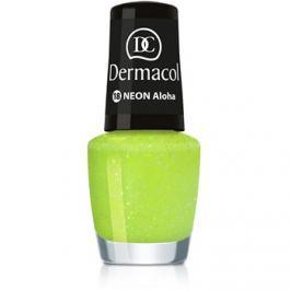 Dermacol Neon neónový lak na nechty odtieň 18 Aloha 5 ml