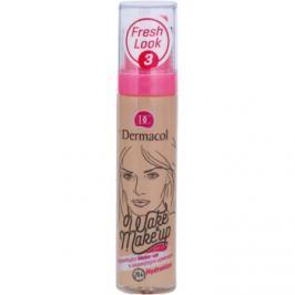 Dermacol Wake & Make-Up rozjasňujúci make-up s okamžitým účinkom odtieň 3 (SPF 15) 30 ml