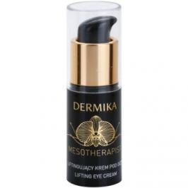 Dermika Mesotherapist očný liftingový krém pre zrelú pleť (With New Generation Hyaluronic Acid and Black Orchid) 15 ml