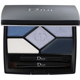 Dior 5 Couleurs Designer paleta očných tieňov odtieň 208 Navy Design 4,4 g