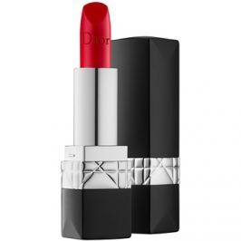 Dior Rouge Dior luxusný vyživujúci rúž odtieň 634 Strong Matte 3,5 g