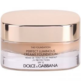 Dolce & Gabbana The Foundation Perfect Luminous Creamy Foundation rozjasňujúci krémový make-up SPF 15 odtieň 110 Caramel 30 ml