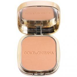 Dolce & Gabbana The Foundation Perfect Matte Powder Foundation zmatňujúci púdrový make-up so zrkadielkom a aplikátorom odtieň No. 140 Tan  15 g