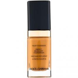 Dolce & Gabbana The Foundation The Lift Foundation make-up s liftingovým účinkom SPF 25 odtieň Soft Tan 160 30 ml