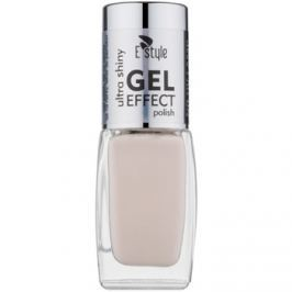 E style Gel Effect gélový lak na nechty bez použitia UV/LED lampy odtieň 20 Pearl 10 ml
