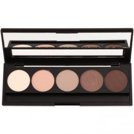 E style Perfect Harmony Palette paleta očných tieňov so zrkadielkom odtieň 01 Natural 9,5 g