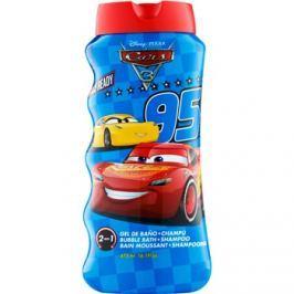 EP Line Cars 3 pena do kúpeľa a šampón 2v1 pre deti  475 ml