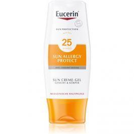 Eucerin Sun Allergy Protect ochranný krémový gél na opaľovanie proti alergii na slnko SPF 25  150 ml
