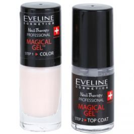 Eveline Cosmetics Nail Therapy Professional gélový lak na nechty bez použitia UV/LED lampy odtieň 08  2 x 5 ml