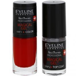 Eveline Cosmetics Nail Therapy Professional gélový lak na nechty bez použitia UV/LED lampy odtieň 01  2 x 5 ml