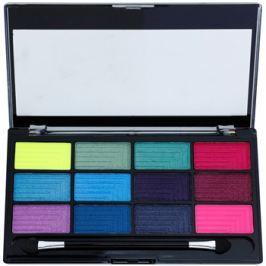 Freedom Pro 12 Chasing Rainbows paleta očných tieňov s aplikátorom  12 g