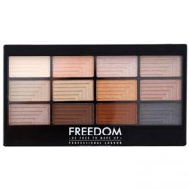 Freedom Pro 12 Le Fabuleux paleta očných tieňov s aplikátorom  12 g