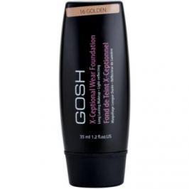 Gosh X-ceptional dlhotrvajúci make-up odtieň 16 Golden 35 ml