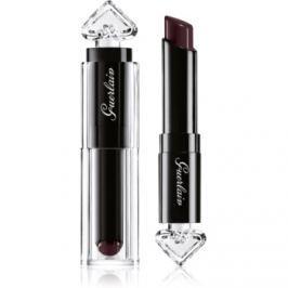 Guerlain La Petite Robe Noire parfémovaný ošetrujúci rúž odtieň 074 Plum Passion 2,8 g
