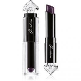 Guerlain La Petite Robe Noire parfémovaný ošetrujúci rúž odtieň 007 Black Perfecto 2,8 g